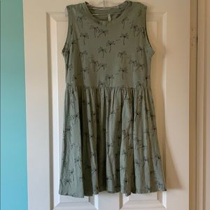 Palm Tree print dress
